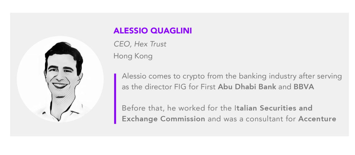 Alessio Quaglini Hex Trust CEO