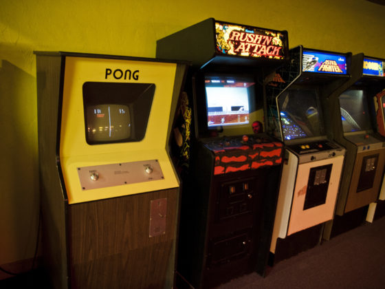 Atari arcade game Pong. Atari launches NFTs in partnership with Animoca Brands.