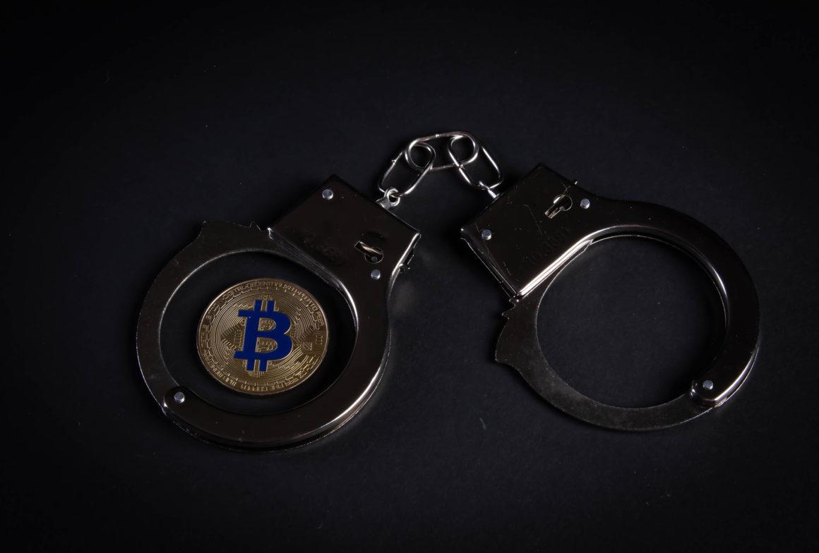 Bitcoin handcuffs