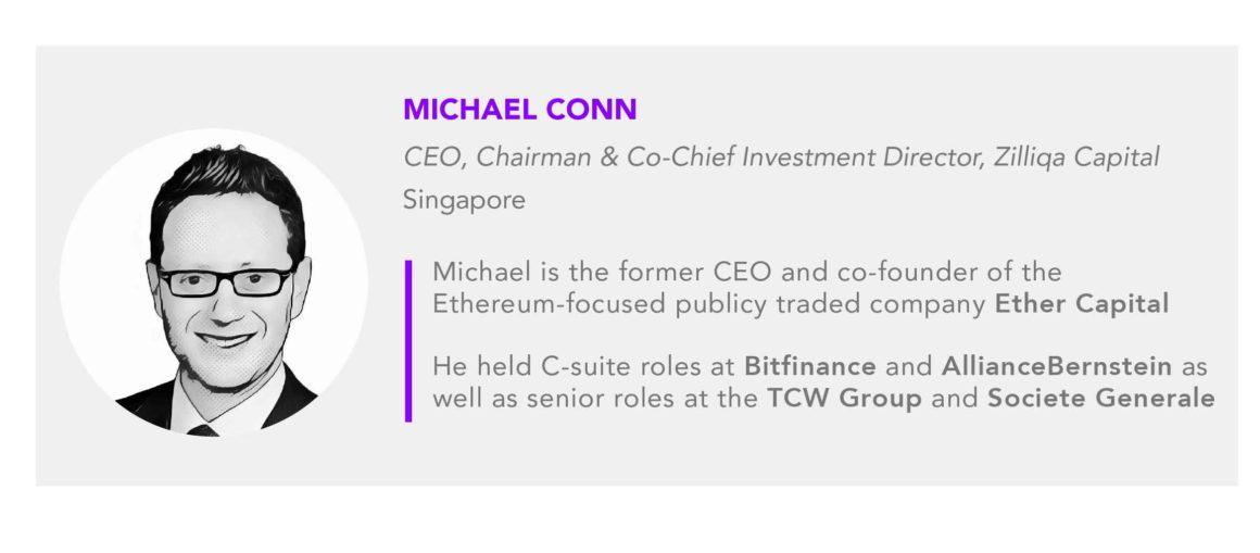 Michael Conn CEO Zilliqa Capital