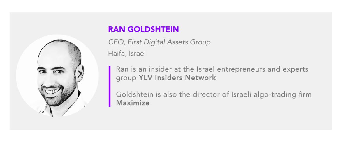 Ran Goldshtein First Digital Assets CEO
