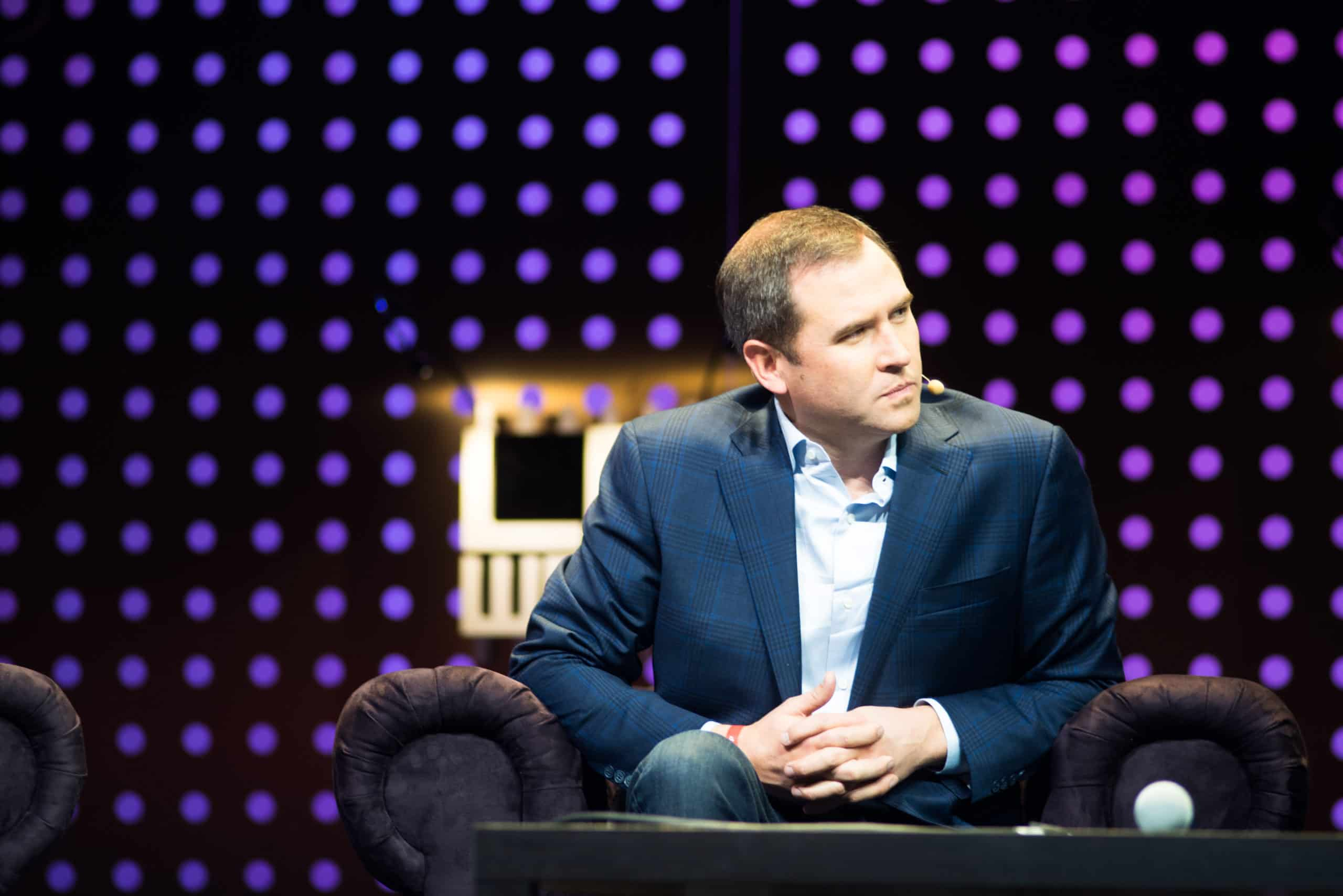 Ripple CEO Brad Garlinghouse scaled