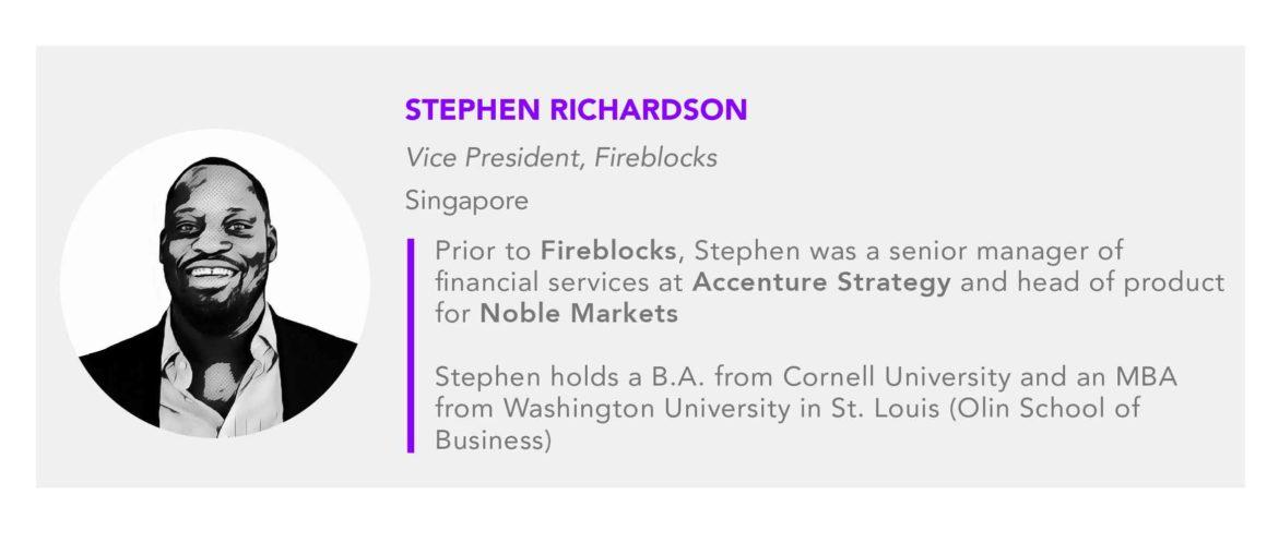 Stephen Richardson Fireblocks