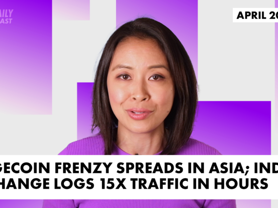 Feature image with Angie Lau for the Daily Forkast