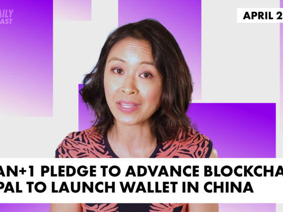 Image of Angie Lau for the Daily Fokast, April 21 | ASEAN blockchain