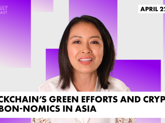 Feature image with Angie Lau in front of purple background