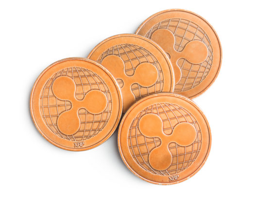 Image of XRP golden coins