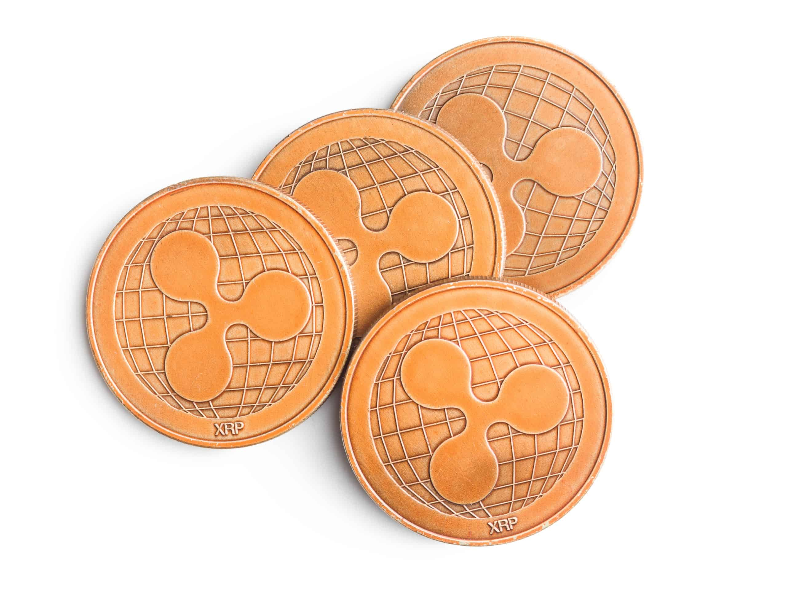 XRP golden coins scaled