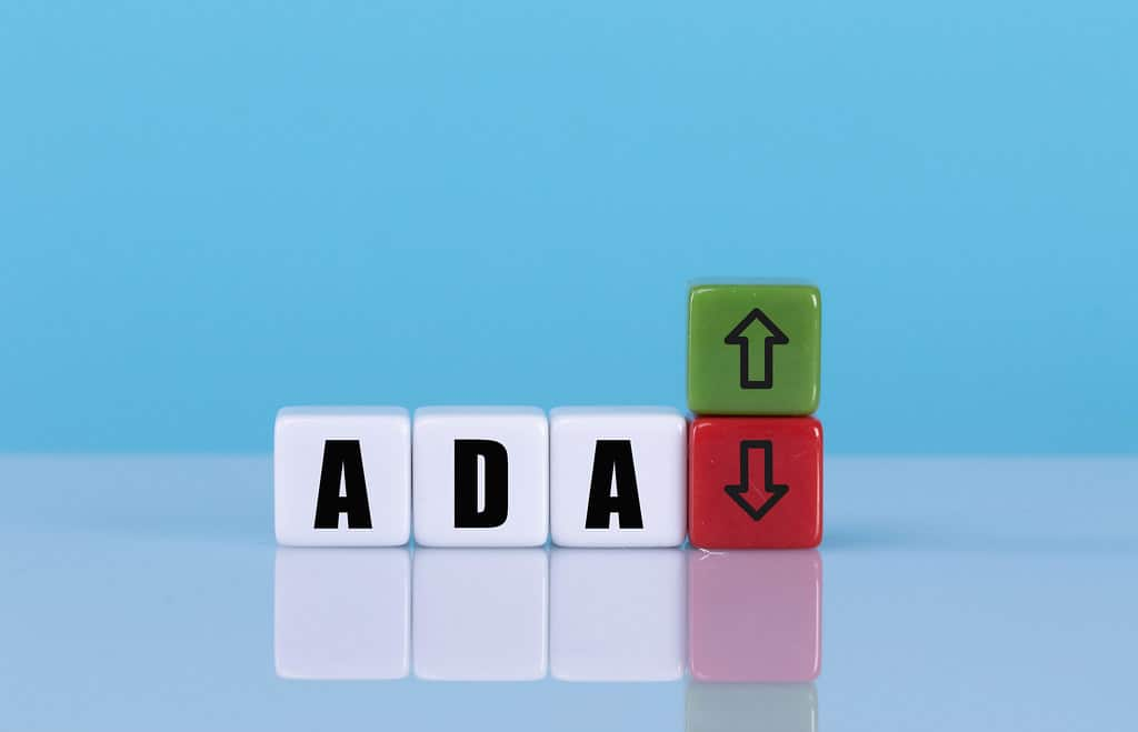 ADA cubes up and down