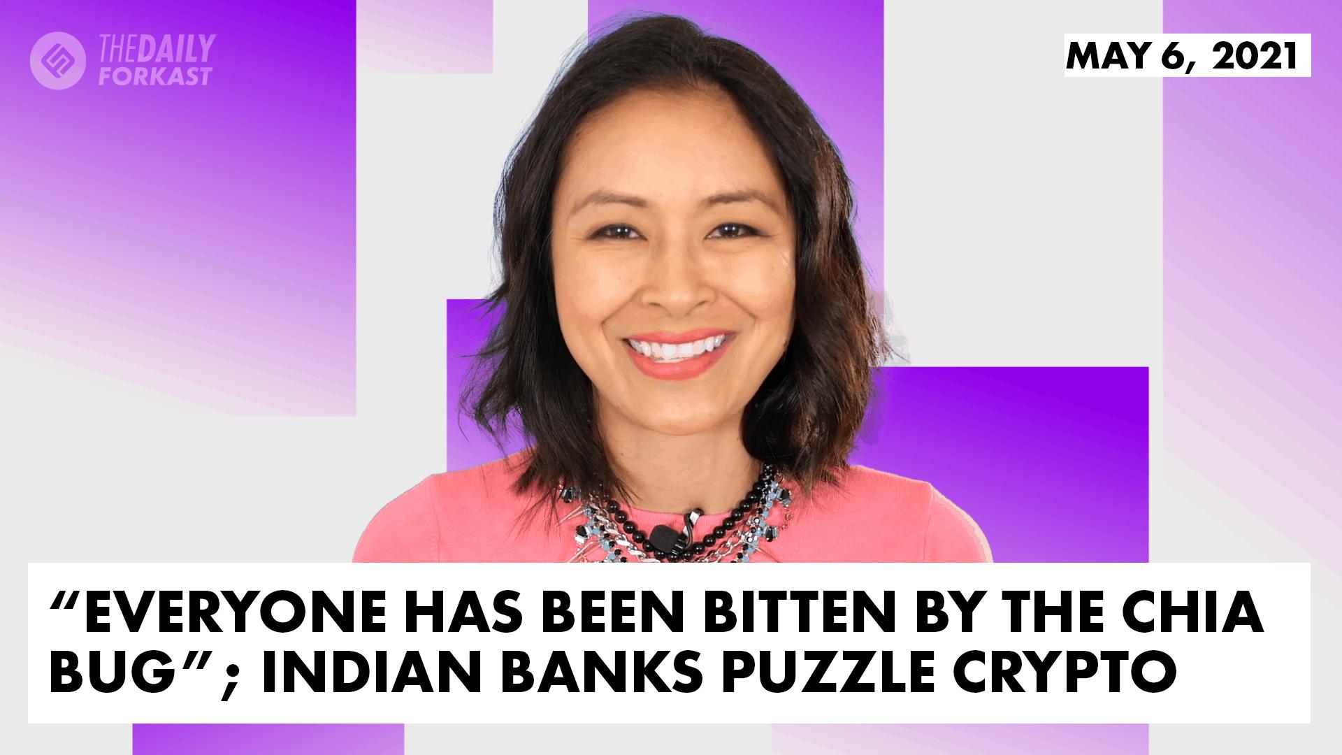 Chia India crypto bank wazirx mining kokrea cryptocurrency blockchain the daily forkast
