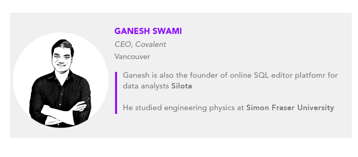 Ganesh Swami Covalent
