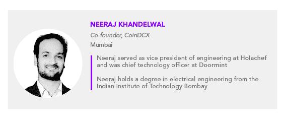 Neeraj Khandelwal CoinDCX