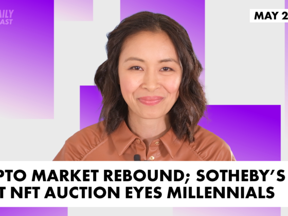 Crypto market rebound; Sotheby's next NFT auction eyes millennials   The Daily Forkast