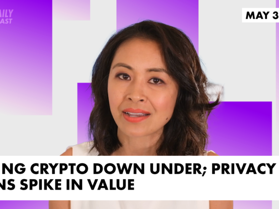 Taxing crypto down under; Privacy coins spike in value