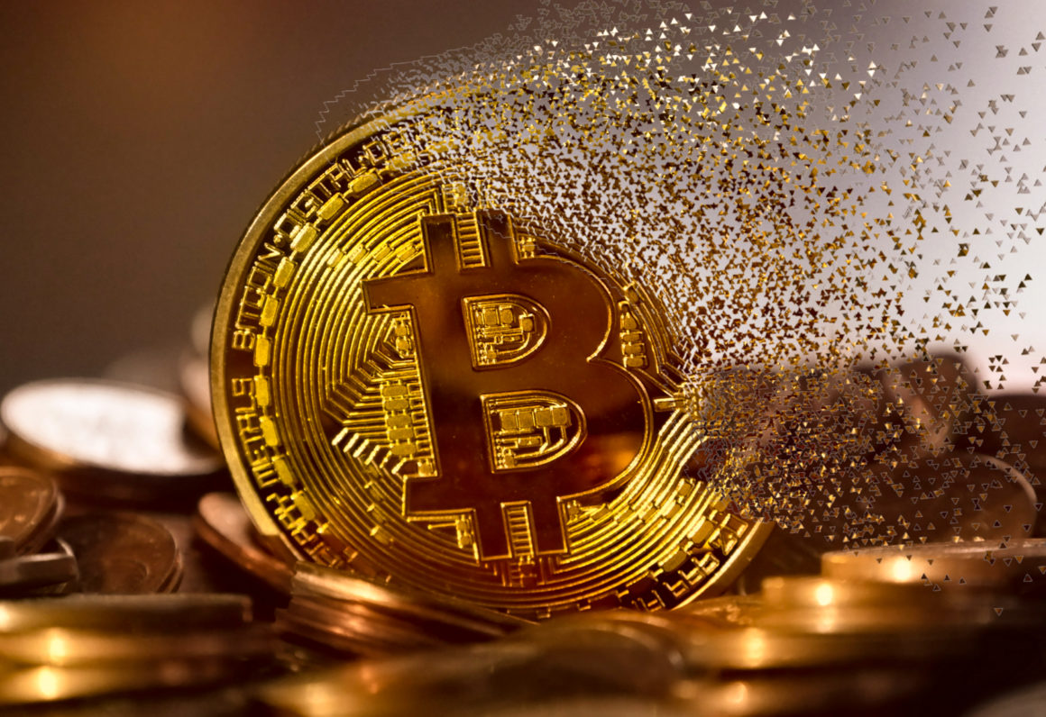 Bitcoin turning into dust