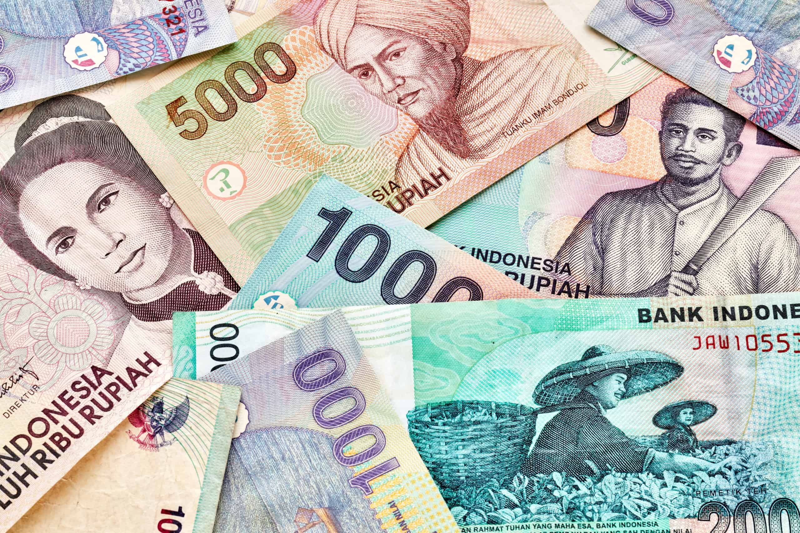 close up picture of indonesian rupiah banknotes P2SFDCL scaled