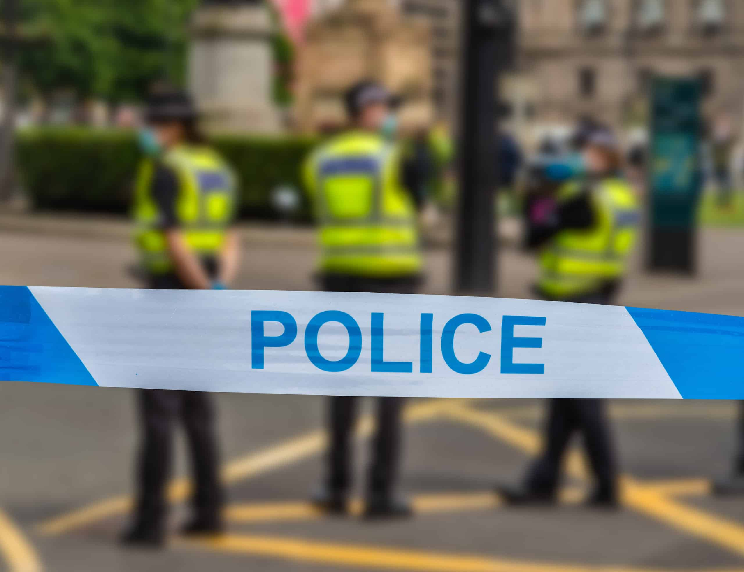 glasgow police at an incident ZACALBU scaled