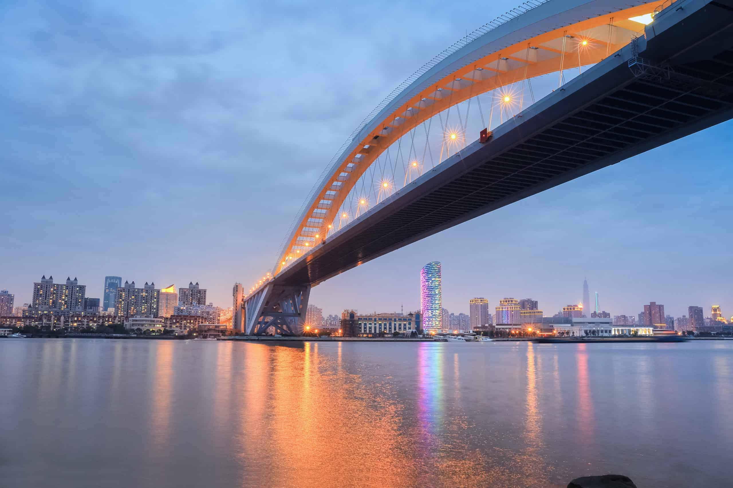 lupu bridge in nightfall scaled