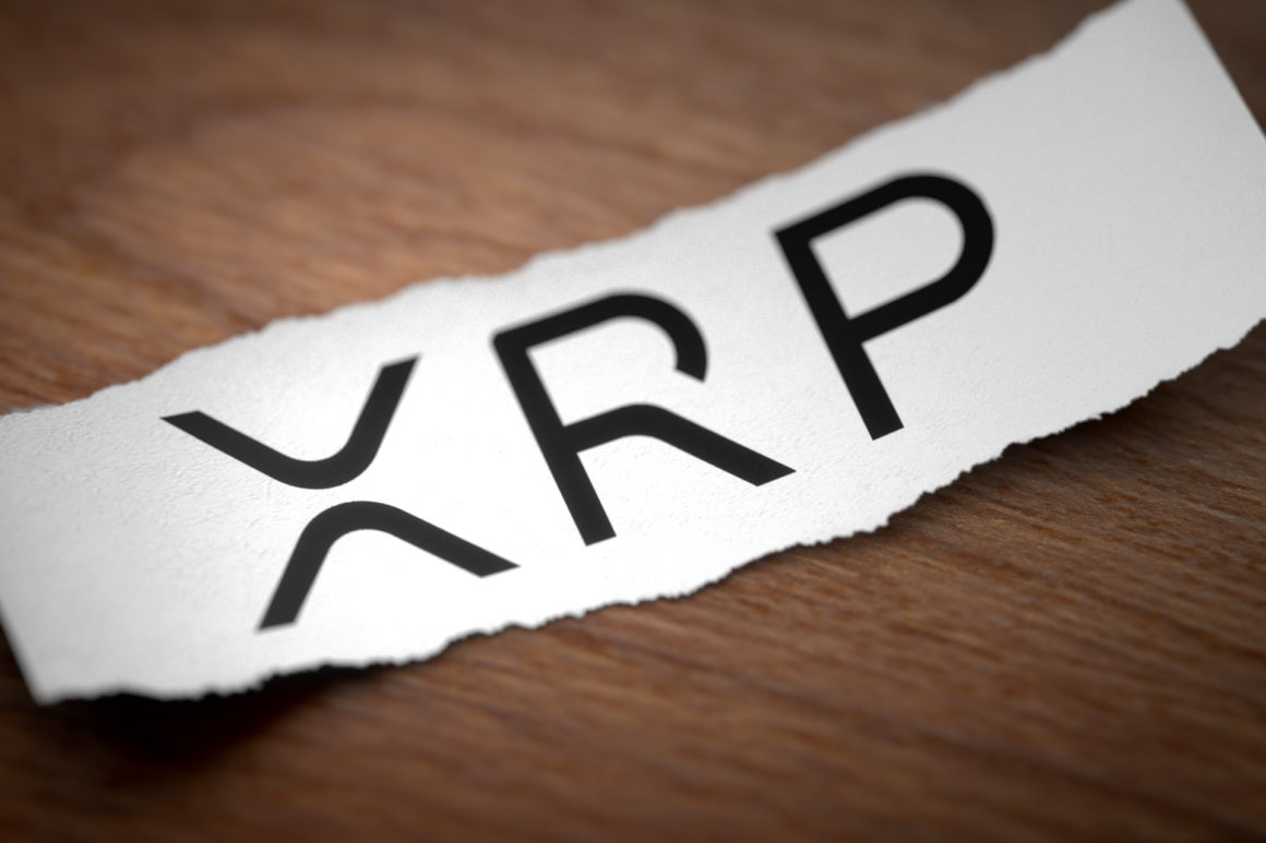 XRP printed on a piece of paper