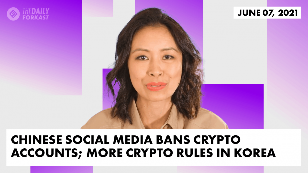 Chinese crypto social media crackdown Seoul tightens rules on crypto The Daily Forkast