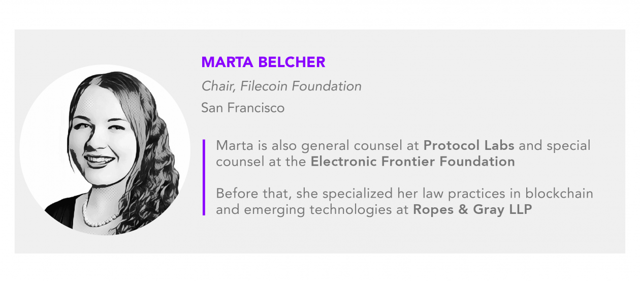 Marta Belcher Filecoin foundation protocol labs electronic frontier foundation