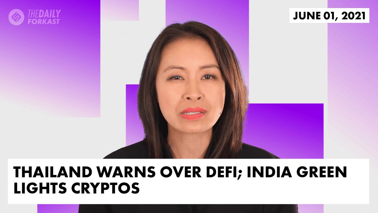 Thailand warns over DeFi India green lights cryptos