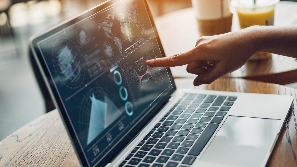 analytics plan strategy insight technology business women working digital tablet computer