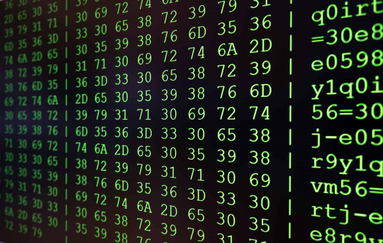 program code on pc screen wm77l9z