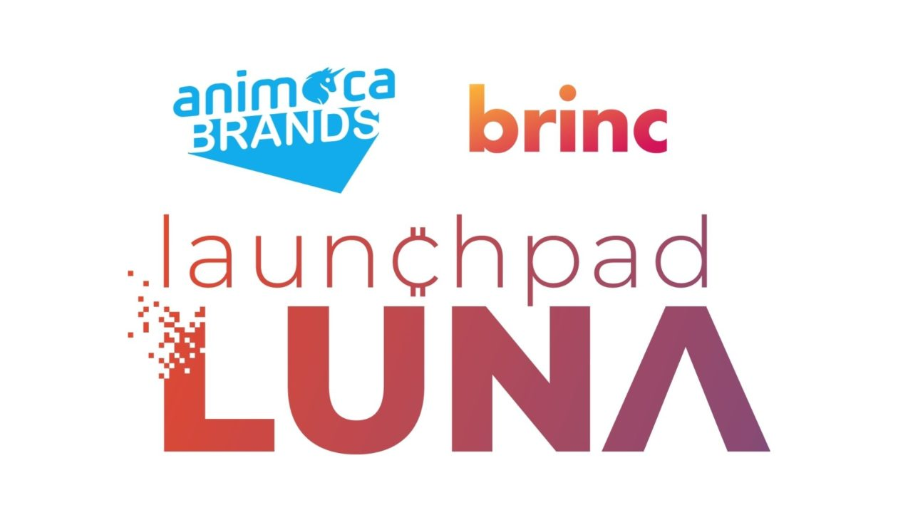 Animoca Brands, Brinc and Launchpad Luna logos