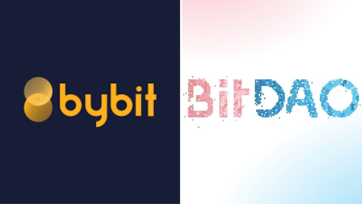 Bybit BitDAO logos