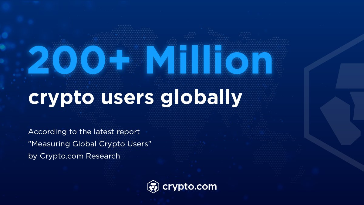 Crypto.com report: 221 million crypto users globally