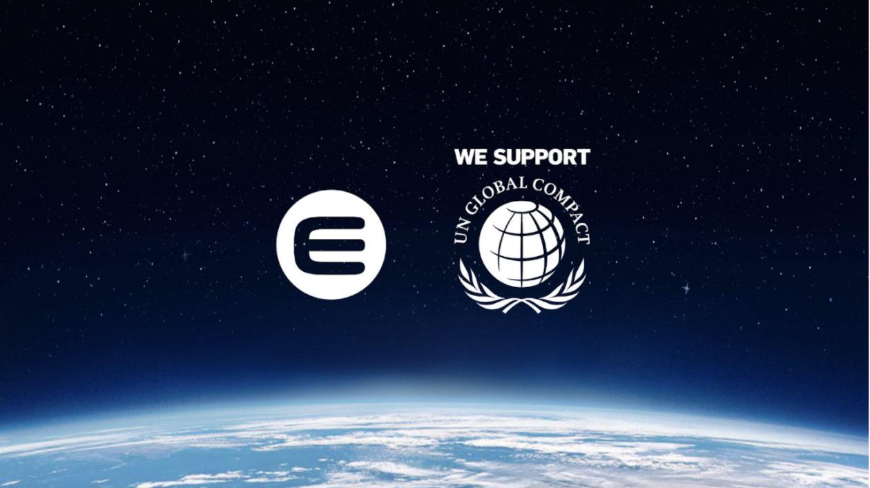 Enjin and UN Global Compact logos
