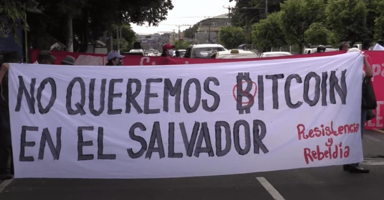 El Salvador Protest