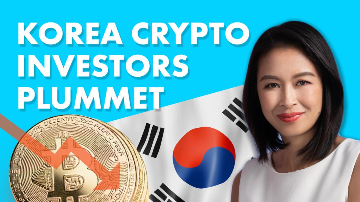India admits no crypto data; Korean crypto investor numbers plummet