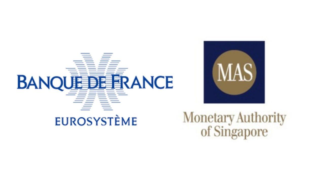 Banque de France and MAS logo