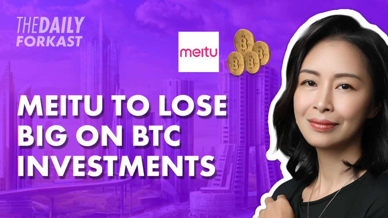 Meitu to lose big on BTC investments; SK banks warned over crypto laws