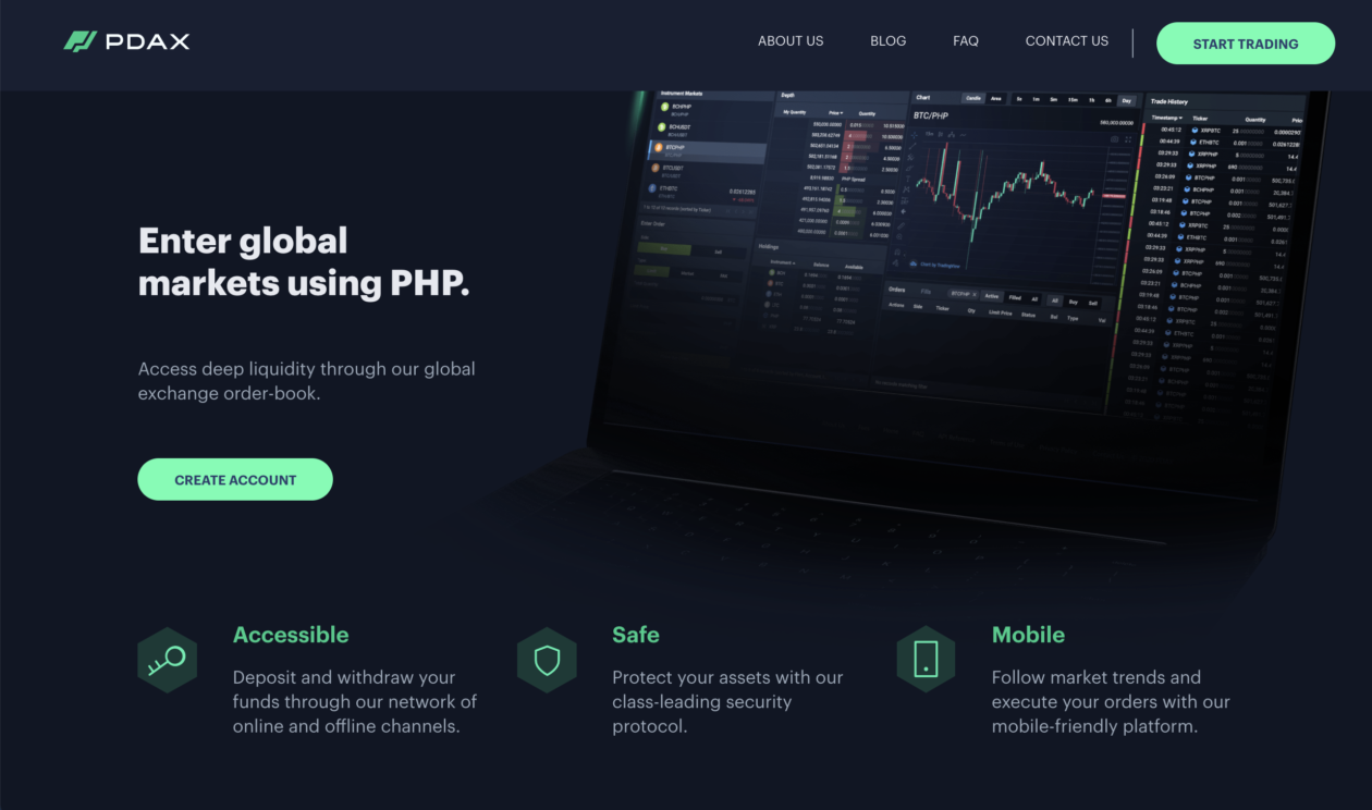 Philippine Digital Asset Exchange has users increased by 22.5 times since 2019