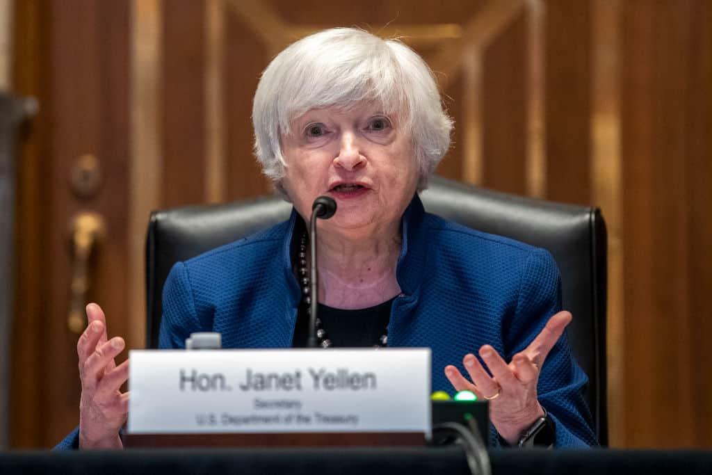 U.S. Secretary of Treasury Janet Yellen