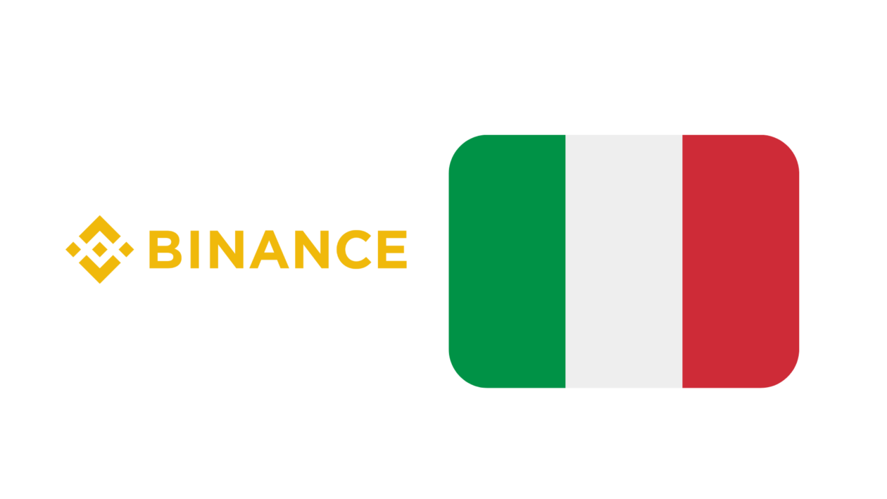 binance not authorized in italy