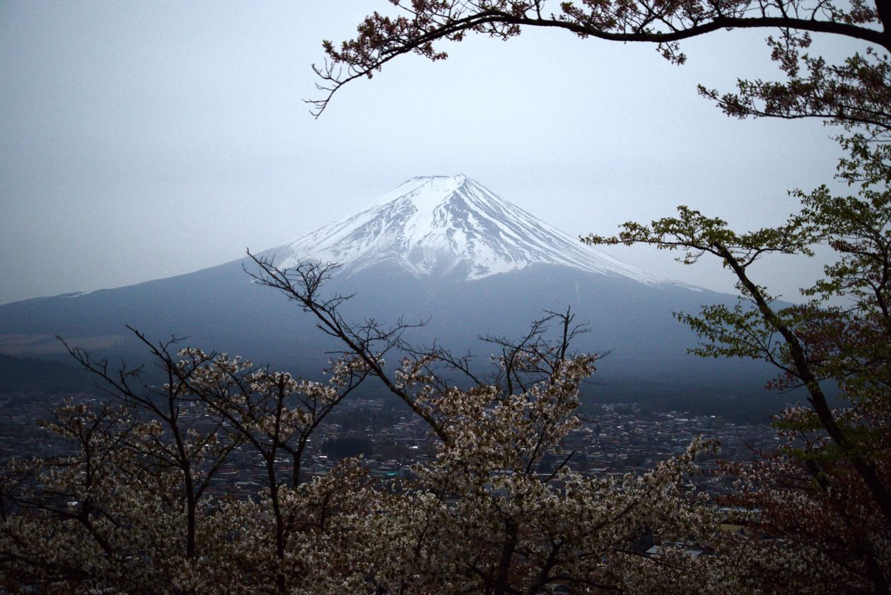 Japan's Mount Fuji; Report shows Japan's crypto asset bottlenecks