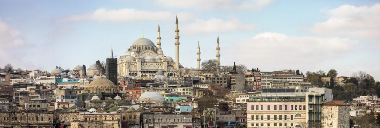 Landscape of Istanbul, turkey, where the cryptocurrecy flourishing