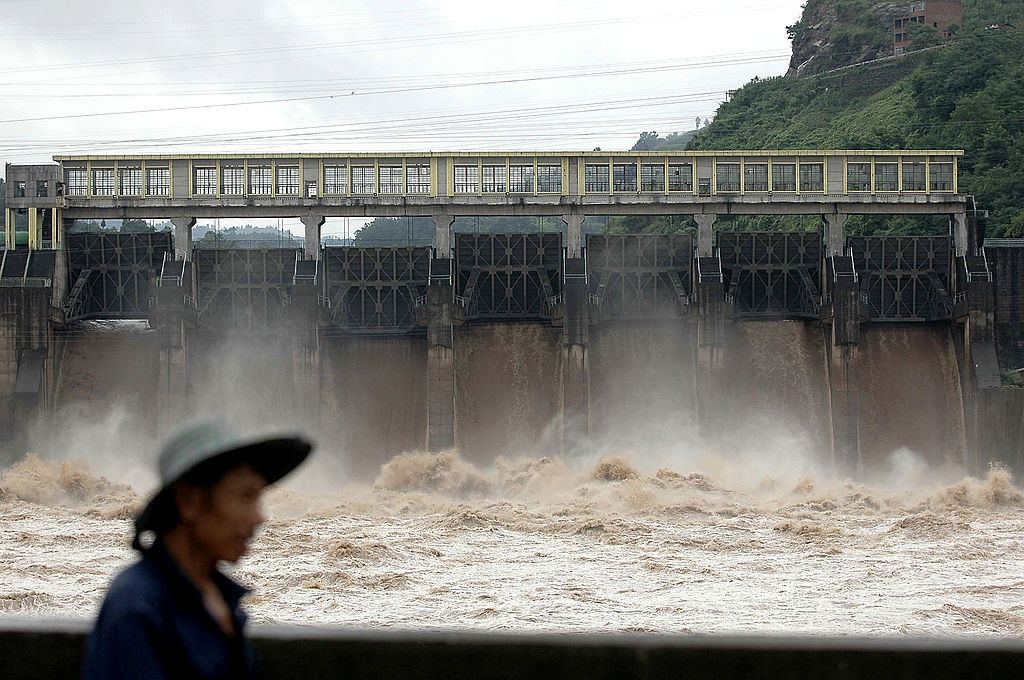 Sichuan hydropower station