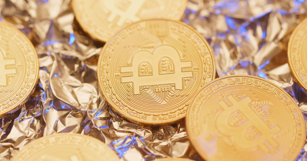 Bitcoin over metal foil, UK regulator promised to campaign the risk of crypto