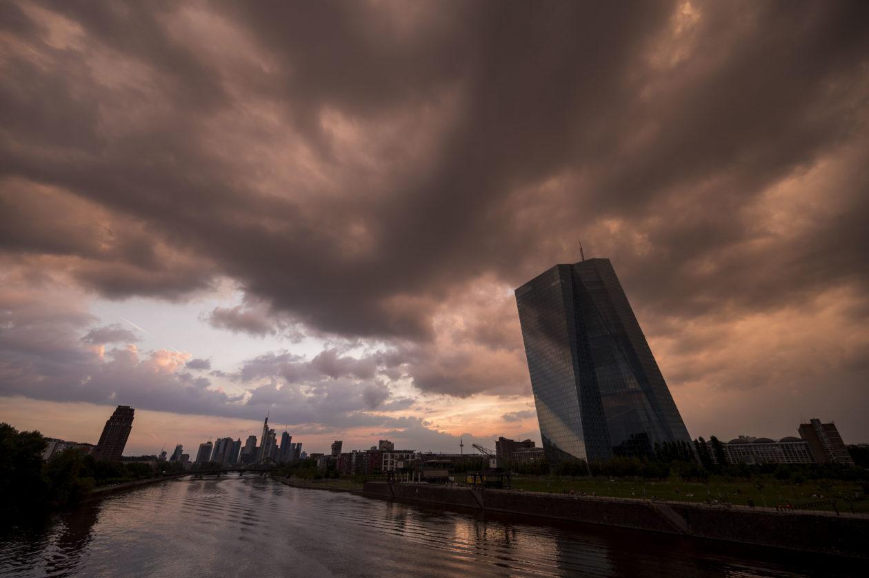 The European Central Bank building