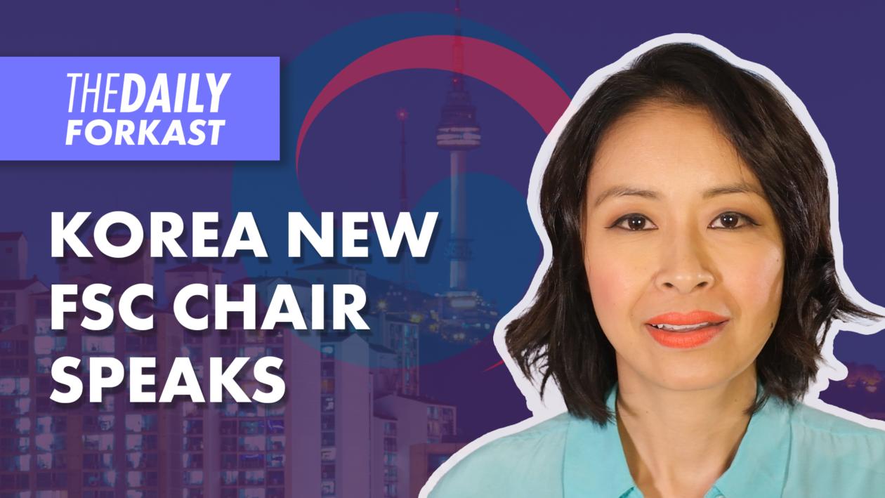 Korea New FSC Chair Speaks