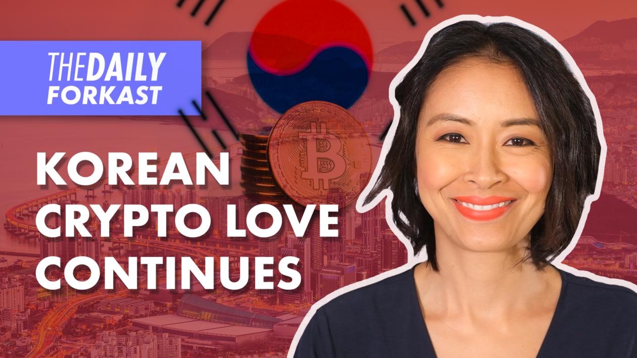 Korean Crypto Love Continues