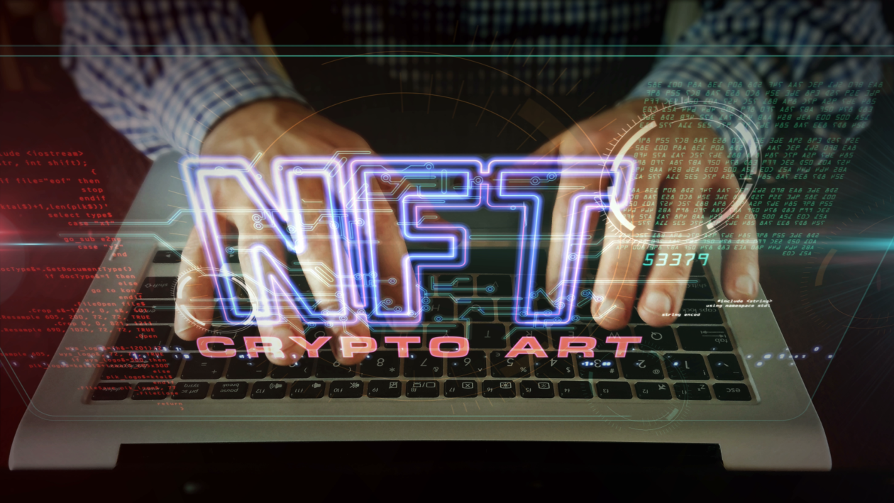 NFT concept,China state mouthpiece criticizes on NFT Frenzy