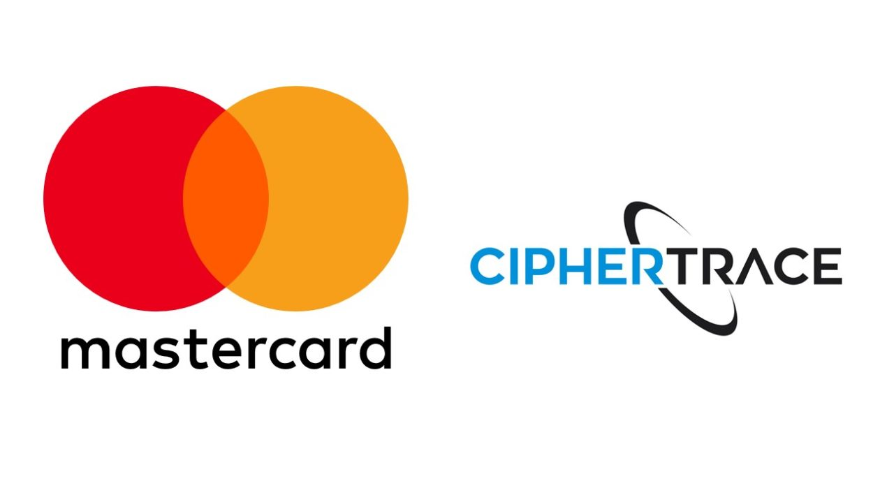 Logo of mastercard and CipherTrace