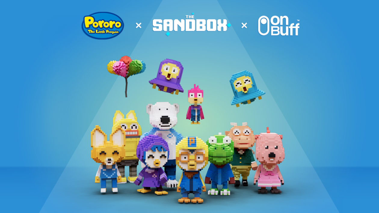 The Sandbox's NFT renditions of Pororo the Little Penguin characters   'Pororo the Little Penguin' NFTs and metaverse theme park underway