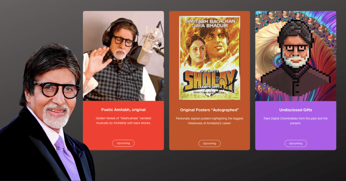 Indian Actor Amitabh Bachchan to launch his own NFT collection